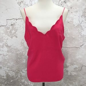 Topshop Bright Pink Scallop Camisole Top 8